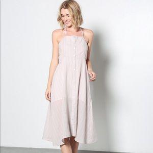 Midi Stipe Dress